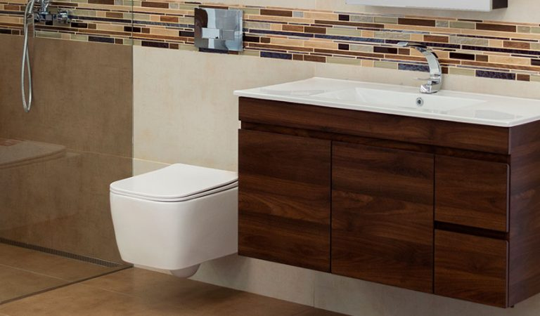 ¿Y si creas un espacio flotante en tu baño? Descubre cómo lograrlo!